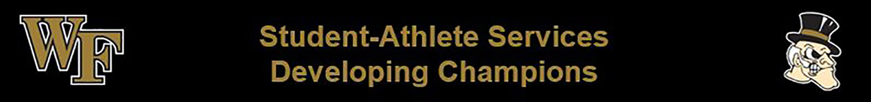 WFU Student Athlete Services